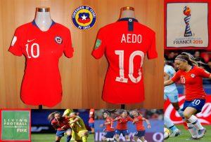 mujer s Chile 2019 mundial Aedo
